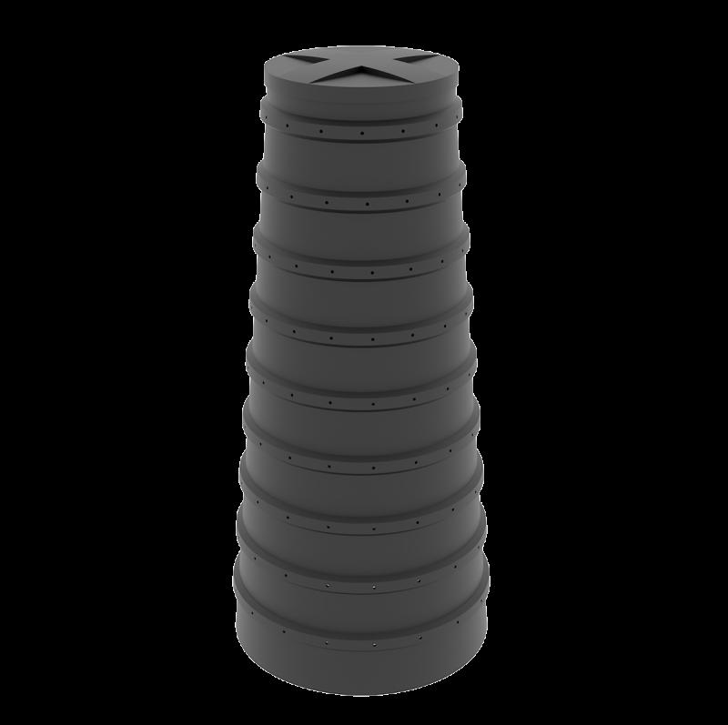 Конусный дренажный колодец 1.5 м